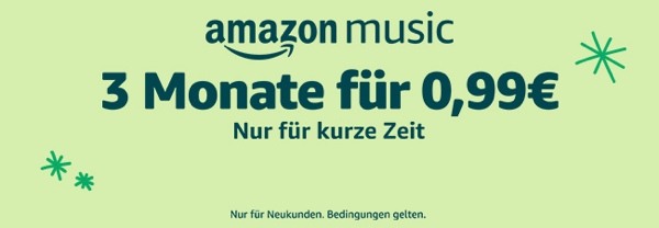 Amazon Music Unlimited testen